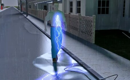 animatie grafica curentati furtuna
