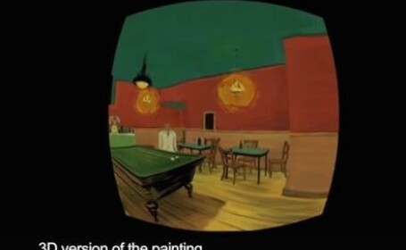 VIDEO Ti-ai dorit vreodata ca o pictura sa prinda viata?