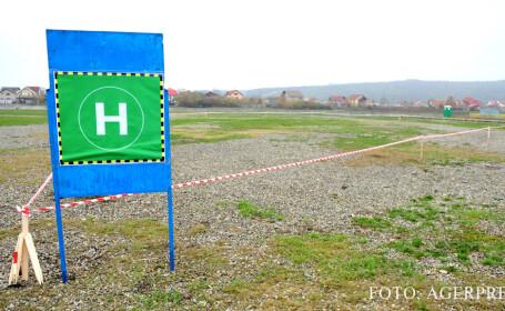 teren heliport Targu Jiu