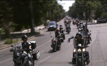 parada motociclisti Bucuresti