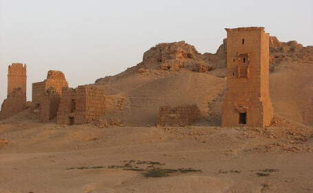 ruine in Palmyra FOTO FLICKR