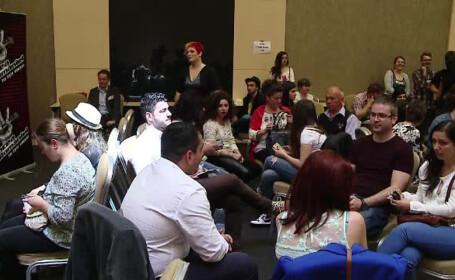 Preselectii Vocea Romaniei la Cluj