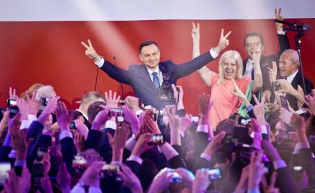 Polonia are un nou presedinte. Cum a reusit Andrezj Duda sa intoarca rezultatele unor sondaje care nu ii dadeau nicio sansa