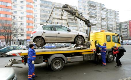 Ridicare masini - Agerpres