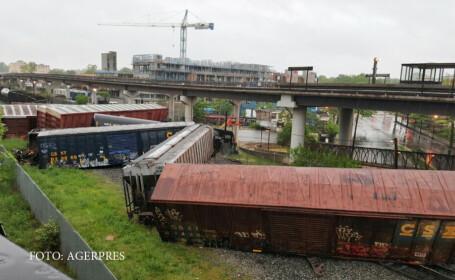 Accident feroviar grav in capitala Statelor Unite. Un tren care ducea o substanta chimica necunoscuta a deraiat langa case
