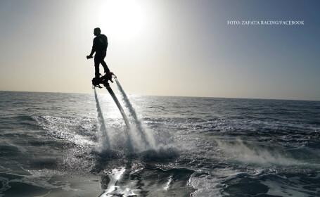 Un francez a batut recordul mondial de zbor cu hoverboardul. Ce performanta isi propune in viitor
