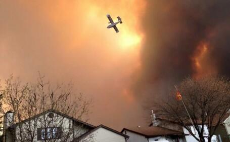incendiu Canada - Agerpres
