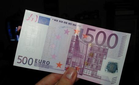 Este oficial. BCE a anuntat oprirea tiparirii bancnotei de 500 de euro