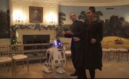 sotii Obama dansand