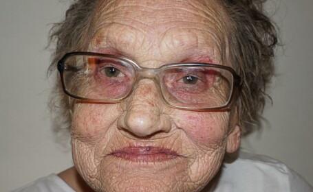 Transformarea spectaculoasa a acestei femei de 80 de ani dupa ce este machiata profesional de nepoata ei. Pozele sunt virale