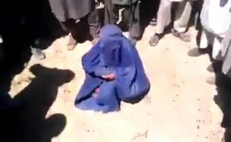 femeie executata de talibani