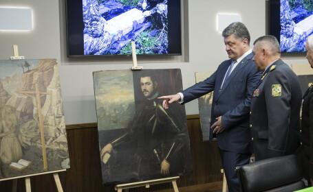 Tablouri de 16 mil. euro furate de moldoveni si romani din Italia, gasite in Ucraina. Printre acestea se afla opere de Rubens