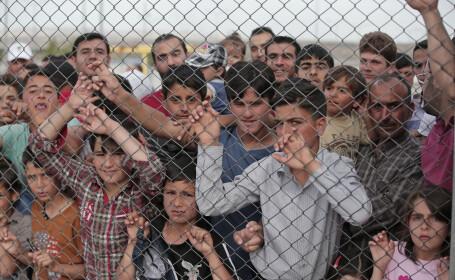 tabara refugiati agerpres