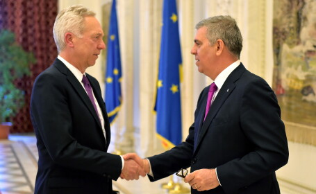 Valeriu Zgonea, intalnire cu amasadorul SUA, Hans Klemm: \