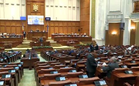 """""""De azi e clar, avem guvern PNL"""". Certuri in Parlament din cauza absentelor care l-au suparat chiar si pe Remus Cernea"""