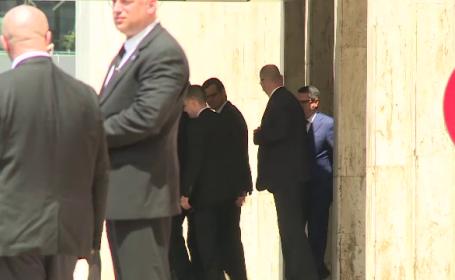 Klaus Iohannis si premierul Ciolos s-au intalnit cu directorul adjunct al CIA, la Palatul Victoria. Despre ce au discutat