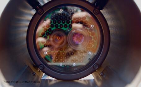 lentila camera de supraveghere
