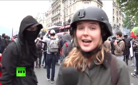 jurnalista atacata in Paris