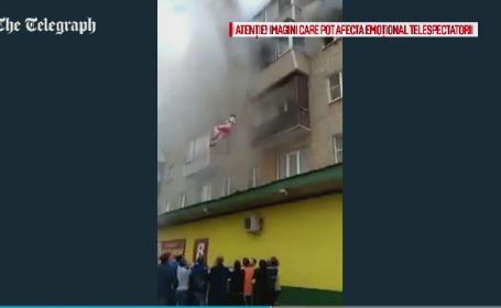 incendiu in Rusia