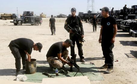 Continua batalia pentru eliberarea orasului Fallujah. Soldatii irakieni au descoperit tuneluri sapate de Statul Islamic
