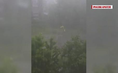 furtuna in Hunedoara