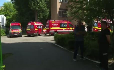 Sase copii au lesinat in clasa, iar trei fetite au fost transportate la spital. De ce dau parintii vina pe profesor