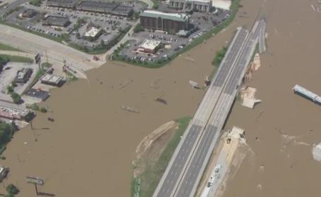 Peste 300 de drumuri inchise si 6.500 de oameni evacuati dupa furtunile din SUA. 20 de oameni au murit