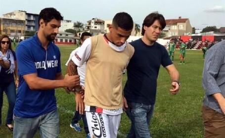 Fotbalistul brazilian Marlon Natanael