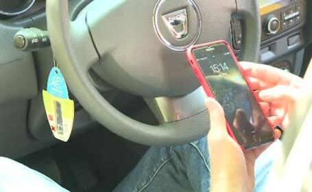 iPhone taxi