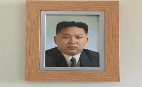 Cum a ajuns fotografia lui Kim-Jong-un in casa unui britanic: \