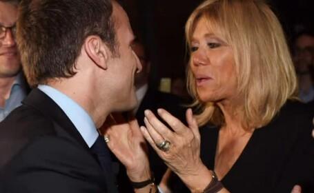 Prima reactie a lui Emmanuel Macron cu privire la varsta sotiei sale, cu 25 de ani mai mare decat el