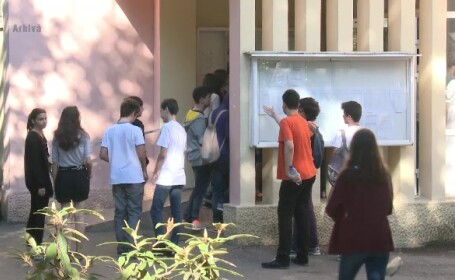 Emotii mari pentru elevii din clasa a VI-a care sustin Evaluarea Nationala.