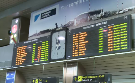 Haos si nervi pe aeroporturi dupa greva controlorilor de trafic. \