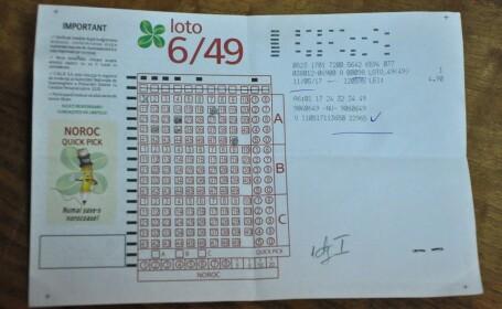 Pensionarul care a ghicit numerele la LOTO si-a ridicat premiul. Primul lucru pe care il va face cu banii