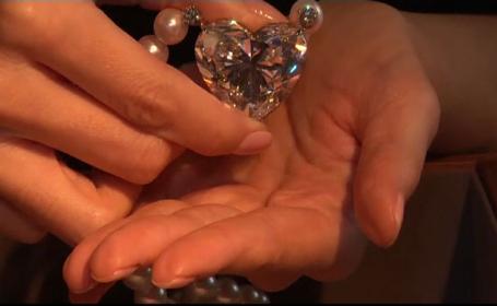 Diamantul care nu are egal in lume, vandut la o licitatie in Geneva. Suma cu care a fost cumparat, sub estimarile initiale