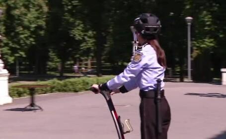 Politistii locali din Cluj, dotati cu segway-uri. \