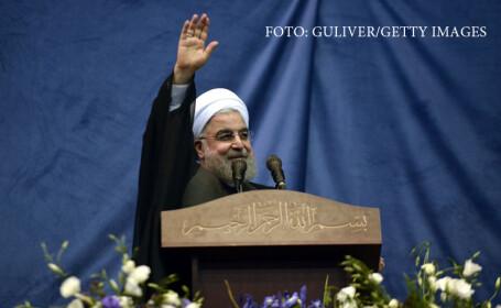 Hassan Rouhani, presedintele Iranului