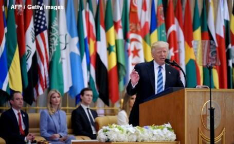 Donald Trump in Arabia Saudita