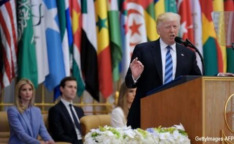 Trump, discurs in Arabia Saudita