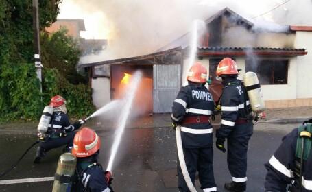 incendiu in Chitila