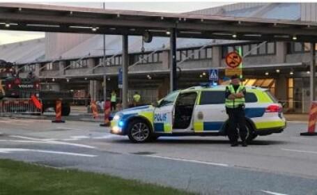 Aeroportul Goteborg Landvetter din Suedia, explozibil, bagaj