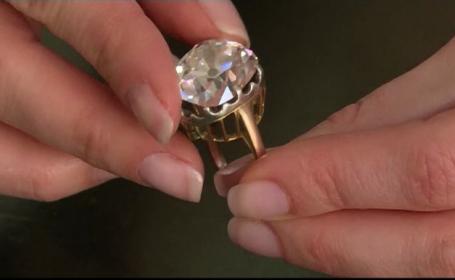 inel diamant