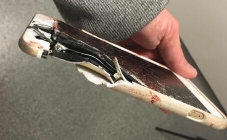 Telefonul mobil i-a salvat viata unei femei ranite grav in atacul din Manchester. Srapnelul i-a secerat un deget