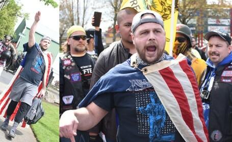 Barbatii ucisi de un sustinator al suprematiei albilor, numiti eroi in Portland: \
