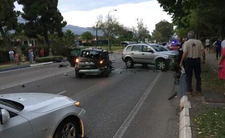 Un sofer a intrat in multime in centrul statiunii Marbella. 6 persoane au fost ranite, printre care si un bebelus