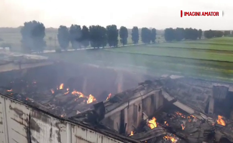 Depozitul de arhivare din Ilfov arde de patru zile. Bancile care au confirmat ca au ramas fara documente; cine le va reface