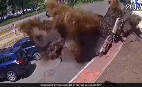 explozie conducta ucraina
