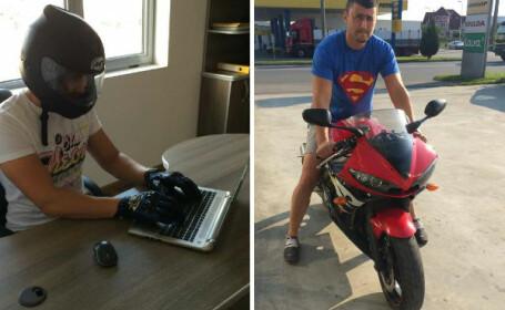 Un tanar motociclist a murit pe loc dupa ce a intrat cu viteza intr-o masina. Bogdan era casatorit si avea 2 copii