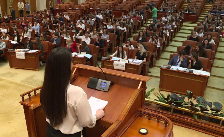 Parlamentari pentru o zi