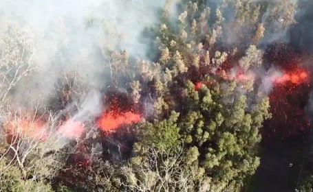 eruptie vulcan